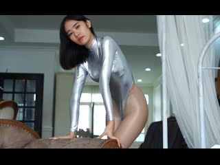Hiro Gato Inc.  Shiny Lycra Spandex Zentai Leotard Sexy Fet