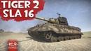Tiger 2 Sla 16 ТЕВТОНСКАЯ МОЩЬ в War Thunder ( Tiger Ausf. B (Serien-Turm) mit SGP Sla 16)