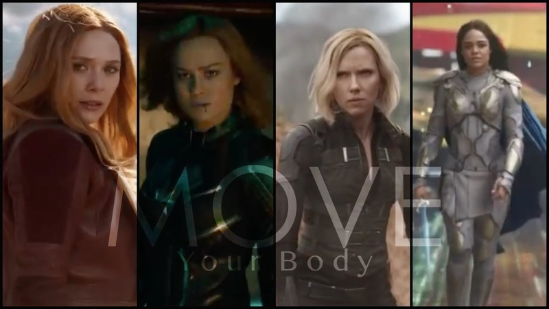 Ladies of Marvel || Move Your Body
