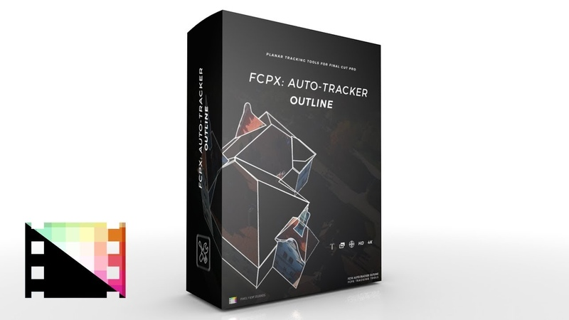 FCPX Auto Tracker Outline - Planar Tracking Tools for FCPX from Pixel Film Studios