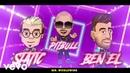Static Ben El Pitbull Further Up Na Na Na Na Na Animated Lyric Video