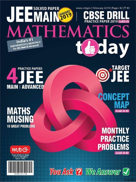 2019-02-01 Mathematics Today