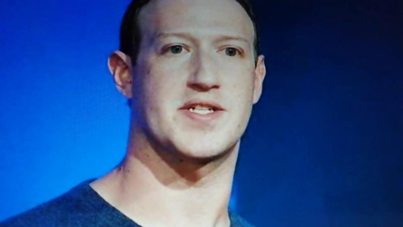 Zuckerberg vous montre son camp😈 les refusent de rendre obligatoire le port du😷en public