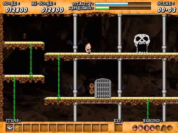Retro Game Remake The Goonies