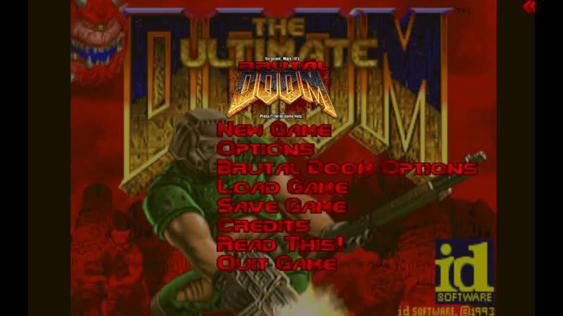 Doom 1 Brutal Doom v21 Vanila