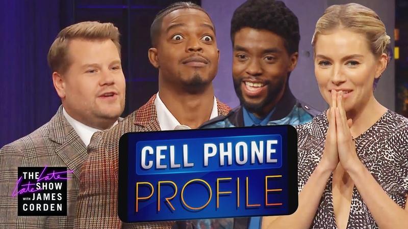 Cell Phone Profile w/ Chadwick Boseman, Sienna Miller Stephan James