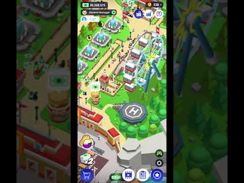Idle Theme Park Tycoon - Recreation Game IOS-Android-Review-Gameplay-Walkthrough-Part 9