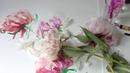 WATERCOLOR Flower Painting | Peonies