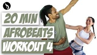 African Dance Online Workout 4 - Afrobeats Dancehall Soca - Koffee, Burna Boy, Afro B, Skales & more