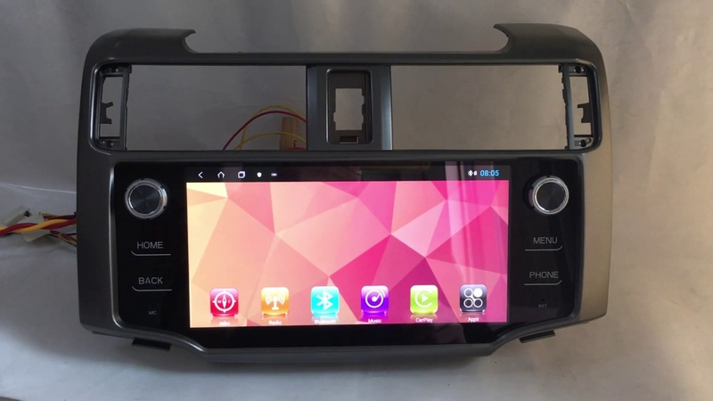 Android Car Stereo Radio Audio DVD GPS Navigation Head Unit Sat Nav Infotainment Toyota 4Runner