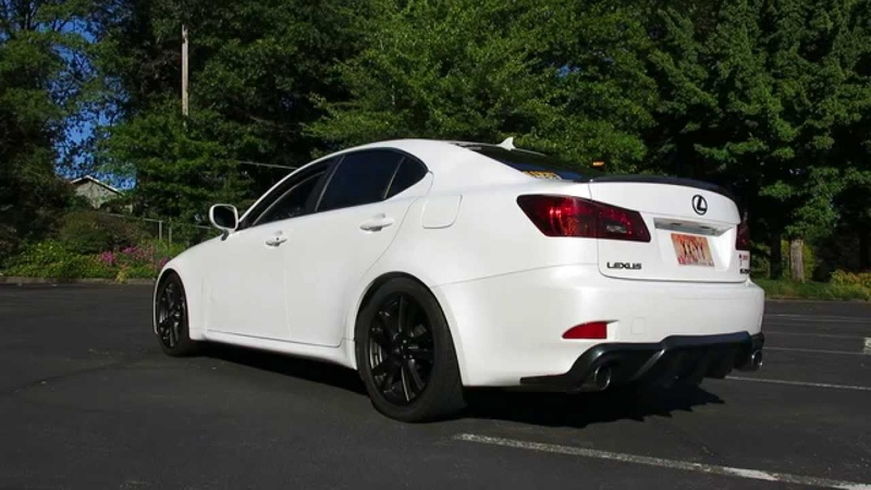 2008 Lexus IS250 Injen air intake and Invidia midpipe and exhausts