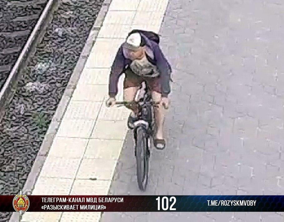 Хулиган на велосипеде разыскивается милицией
