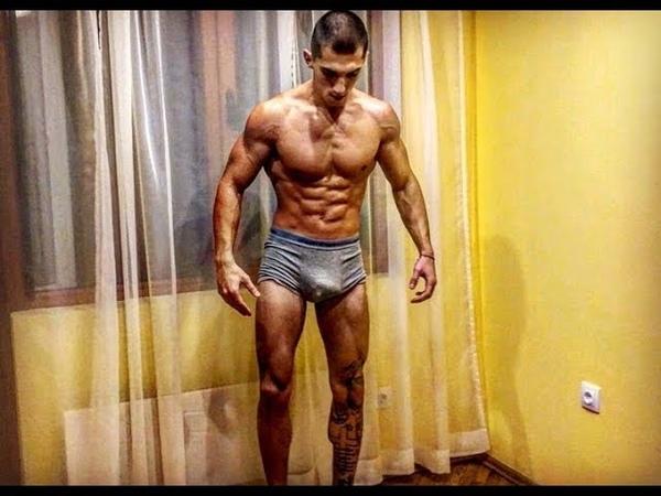 Alpha Boy Does Exercises Shows Amazing Physique