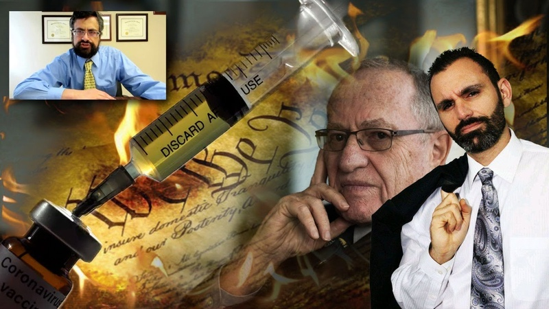 Legal Experts Crush Dershowitz's Mandatory Vaccine Claims with Special Guests Louis Leo Jared Beck