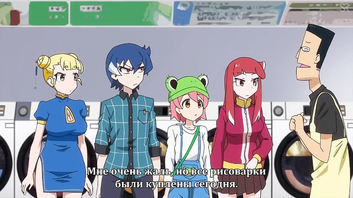 субтитры 8 серия Akiba s Trip The Animation Падение Акибы by cygnus Pshenica SovetRomantica