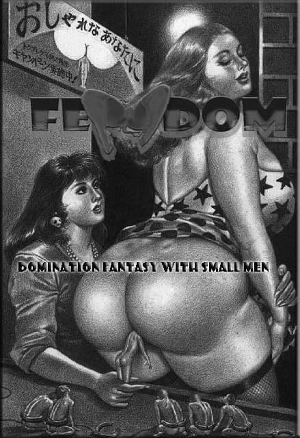 Femdom - Domination fantasy with small men [Demo]