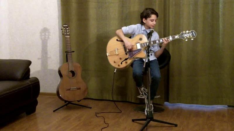 Joe Cocker Noubliez Jamais Performed by Nikusha Gagnidze 11 Years Old
