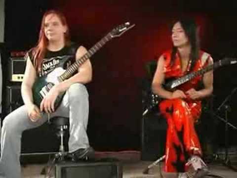 Duelo de guitarras-jani liimatainen vs syu