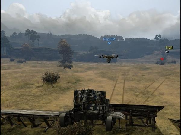 Crossout 20 Ракетный дрон затейник
