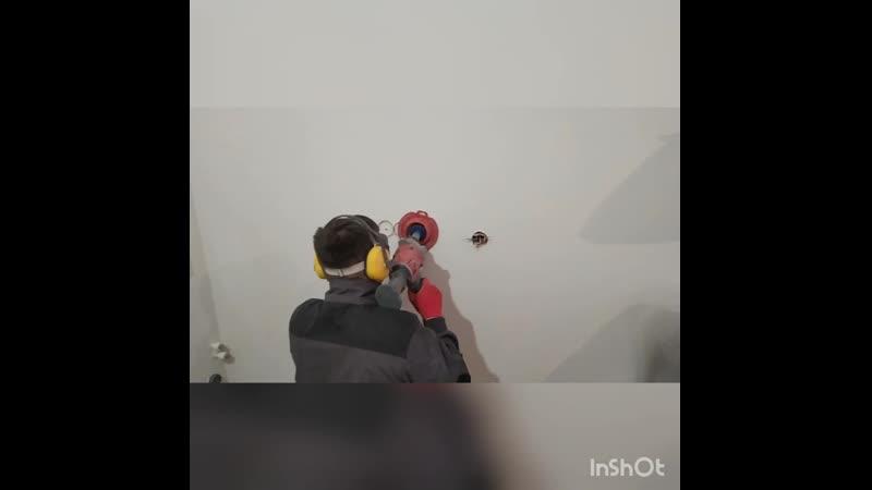 Монтаж электрики на кухне