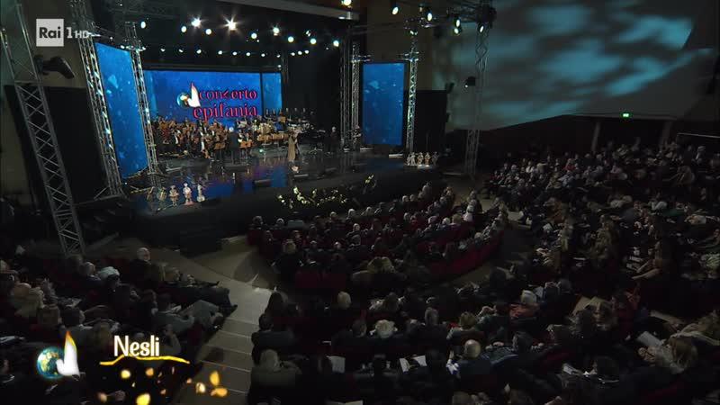 Teatro Mediterraneo Concerto dell'Epifania Концерт ко дню Богоявления в театре Mediterraneo Неаполь 4 01 2020