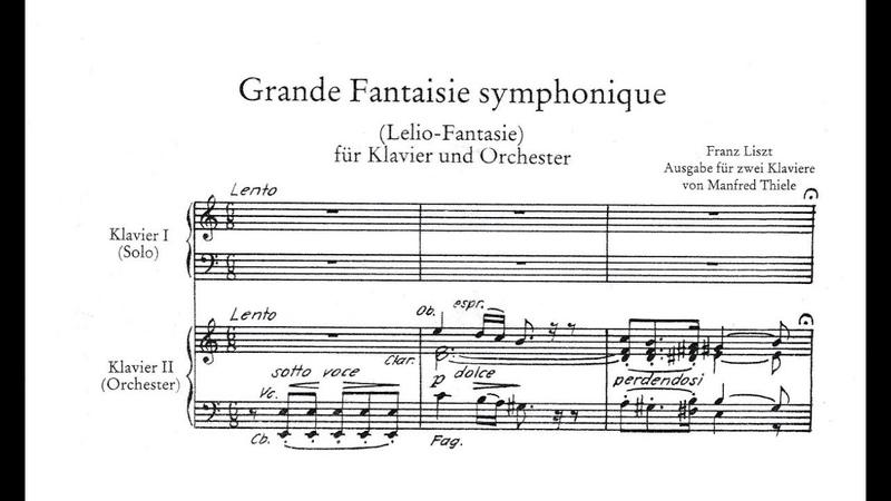 Liszt Grande Fantaisie symphonique S120 Jandó