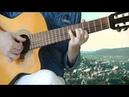 Preludia A moll Dedication to classical guitar