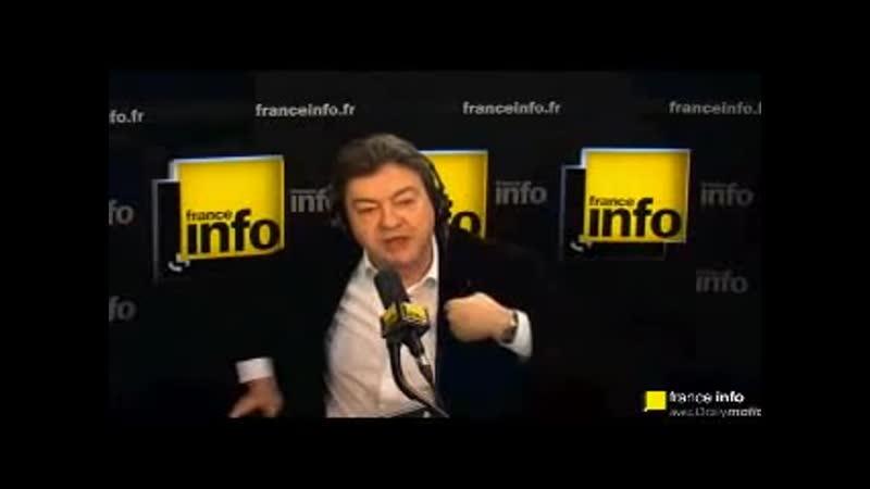 Mélenchon évoquant la BNP et la SocGen en cas de faillite de Chypre
