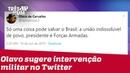 Olavo de Carvalho sugere ditadura militar para 'salvar o Brasil'