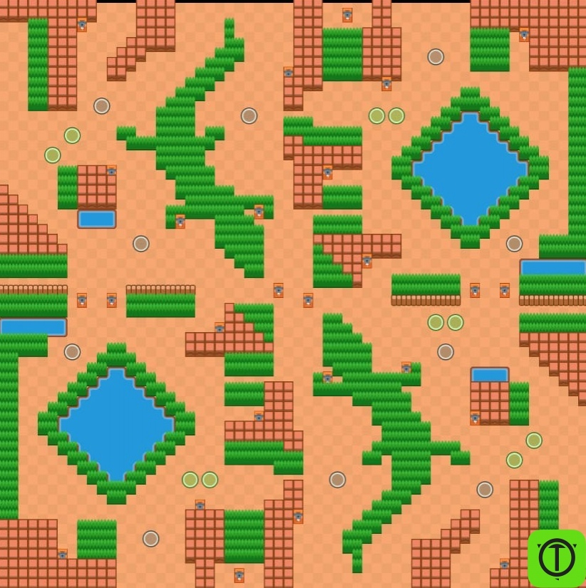 #Концепт Идея для карты: «Крокодилье озеро»