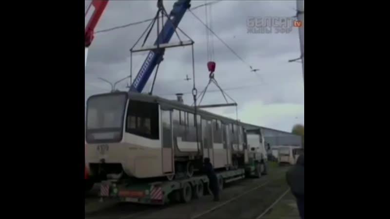 Кемеровчан оскорбили бэушные московские трамваи