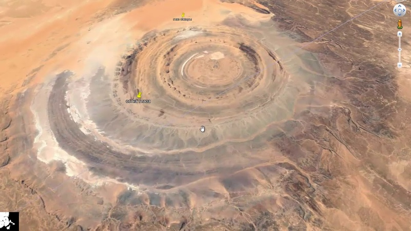 Ришат. Глаз Сахары или остатки древнего космодрома
