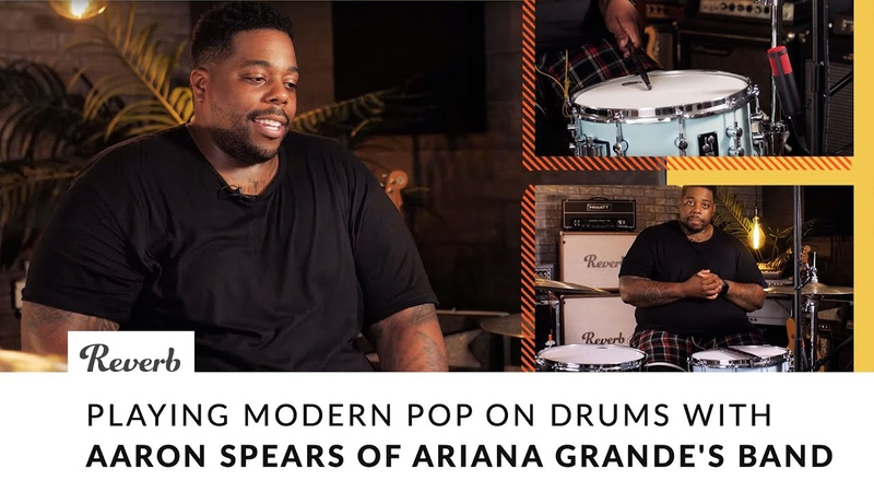 Playing Modern Pop on Drums with Aaron Spears of Ariana Grande's Band Reverb