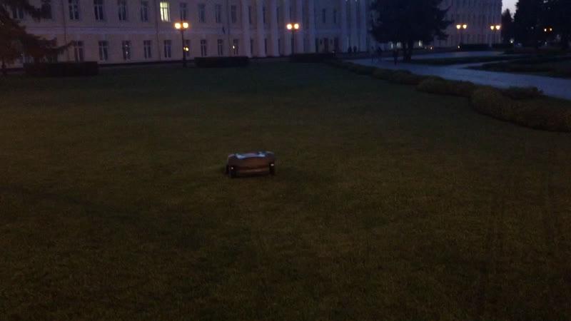 Робот косильщик