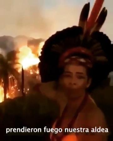 Väcka on Instagram: Repost @voicot ¿Cuanto más necesitamos ver para despertar? Arde la Amazonia mientras el presidente Bolsonaro negocia con las