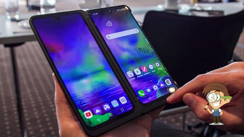 LG G8X ThinQ - защищенный смартфон с 3-мя дисплеями