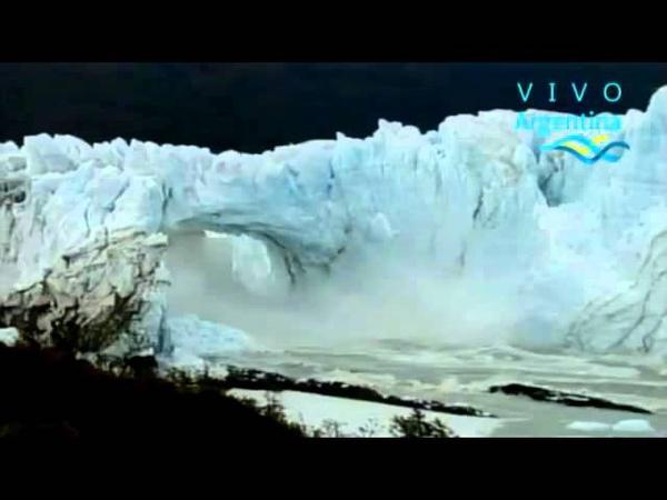 Glaciar Perito Moreno 10 03 2016 Resumen Derrumbe Caida Tunel