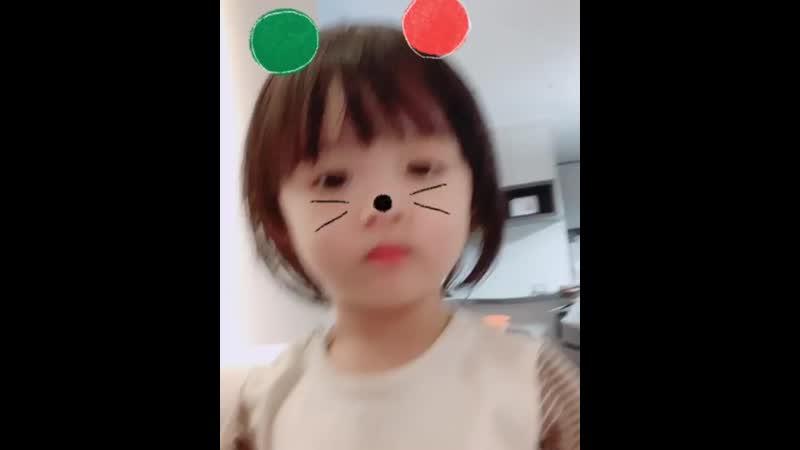 아기모델 키즈모델 젤리(이현서)의 성장스타그램♥ on Instagram_ _정말 갑작스럽게(MP4).mp4