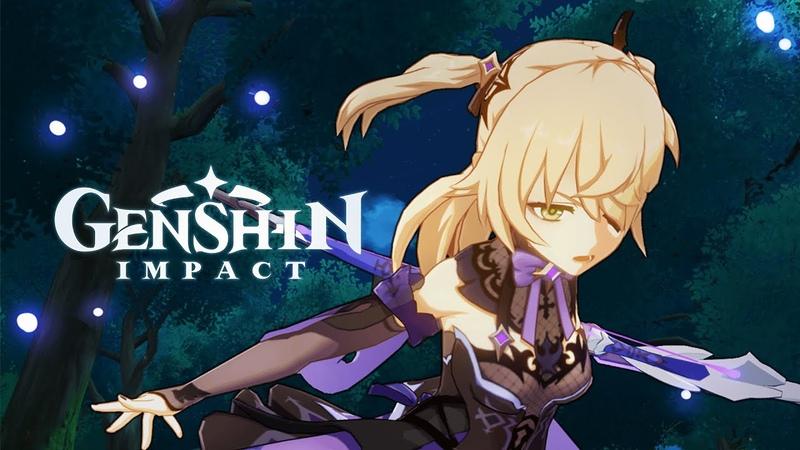New Character Demo Fischl Glanz der Nacht |Genshin Impact