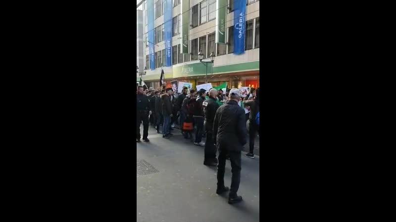 Neues aus Würzburg Syrer demonstrieren und rufen Russen raus