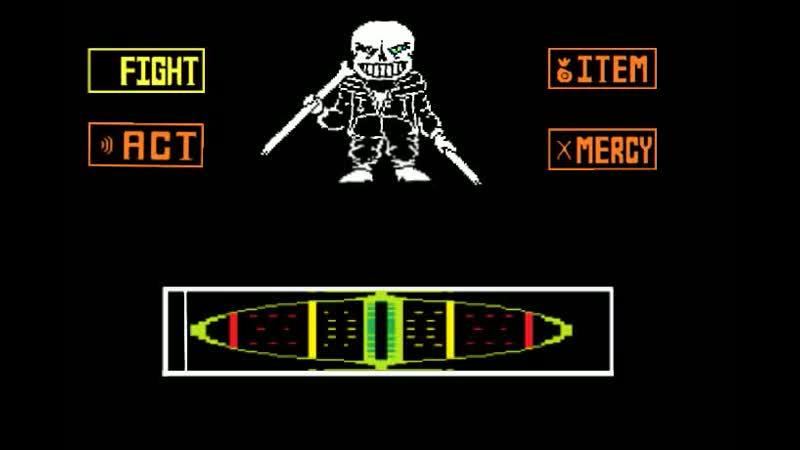 Disbelief Papyrus phase 2 theme Megalo Strike Back