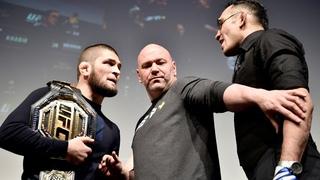 Khabib Nurmagomedov vs. Tony Ferguson A history of faceoffs MMA Junkie