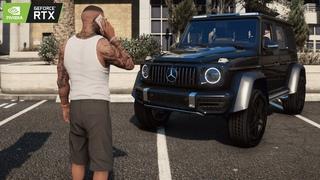 ⁴ᴷ⁶⁰ Franklin & Lamar GANGSTA Gameplay | GTA 5 PC REAL LIFE Graphics GEFORCE RTX™ 2080 Ti & i9-9900k