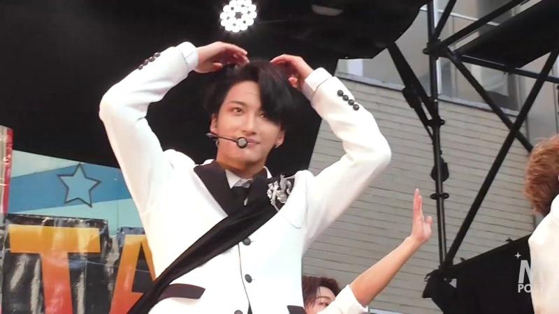 韓流Mpost ATEEZ エイティーズ パフォーマンス編 第21回神大フェスタ『ATEEZ JAPAN STARTING LIVE』 at 神奈川大学 横浜キャンパス 中庭ステージ
