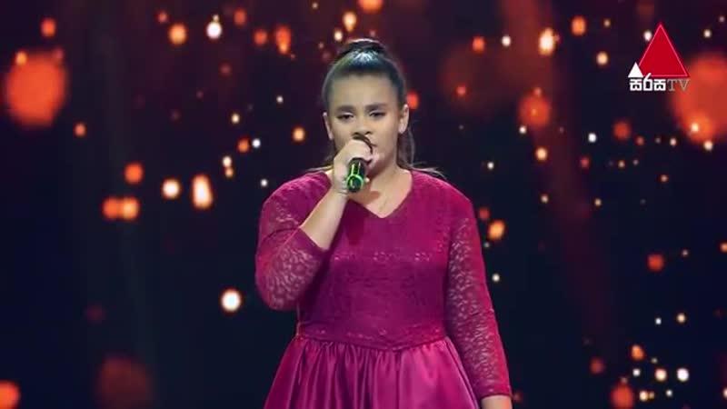 Шоу Голос Teens Шри Ланка 2020 Амелия с песней Восстаю как феникс The Voice Sri Lanka Amelia a Rise Like a Phoenix