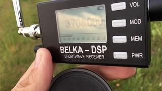 Belka DSP vs. Degen DE1103 vs. Sony ICF-SW7600G on weak SSB signal