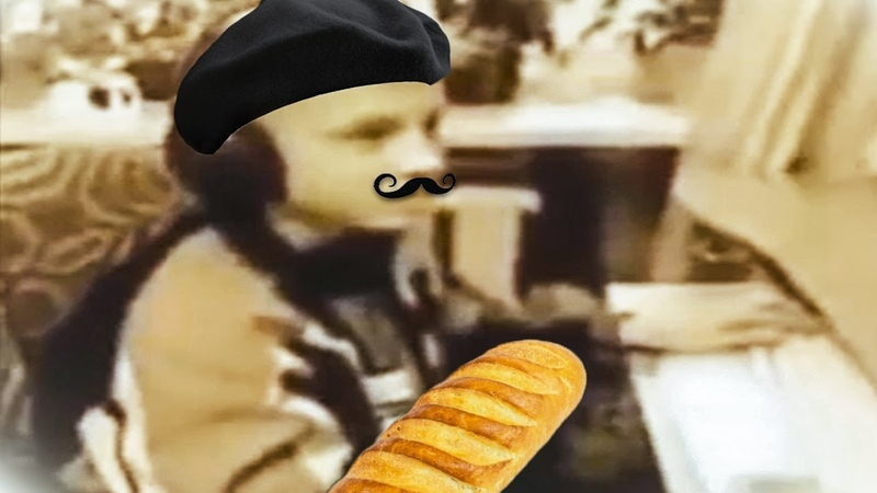 Ес минус 3 но французским голосом
