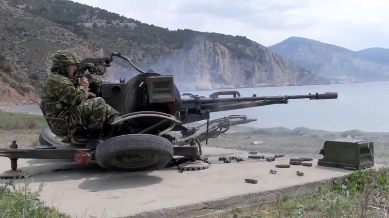 Зенитная установка «ЗУ-23-2»