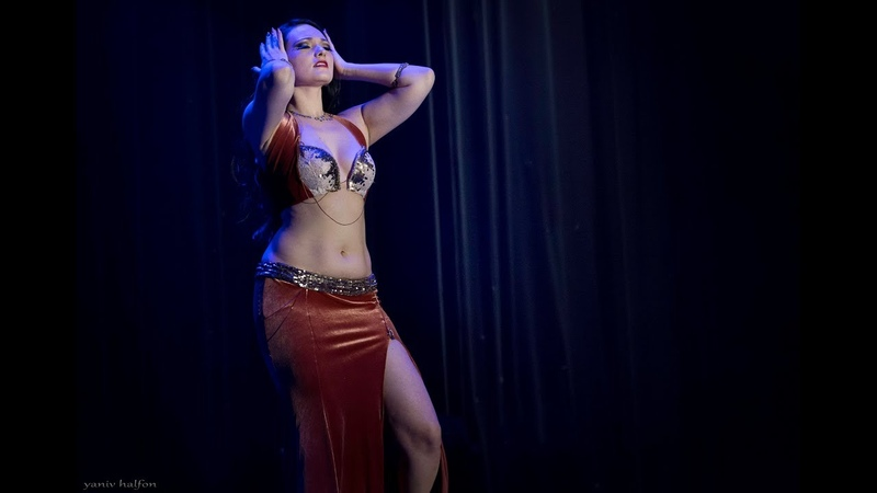 Bellydancer Irina Akulenko tribal fusion belly dance in The Massive Spectacular