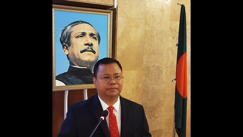 DR ANDRIO DRONG DIPLOMAT UNIVERSITY OF DHAKA PEOPLES' FRIENDSHIP UNIVERSITY OF RUSSIA